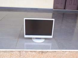 """AOC 19"""" wide monitor free power and vga cable"""
