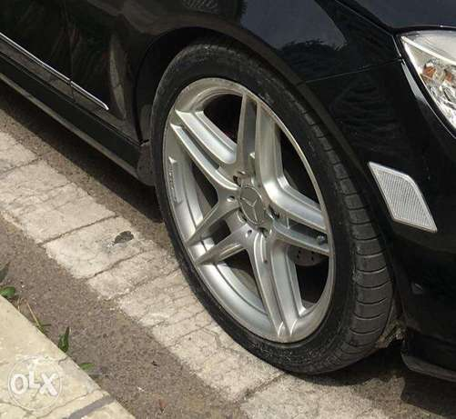 "Original 18"" mercedes amg rims"