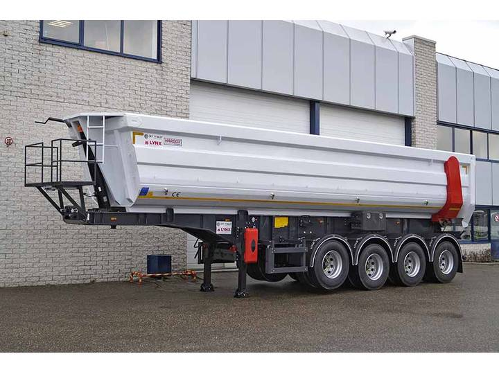 Diversen LYNX LX 33-4 HARDOX 4 AXLE TIPPER TRAILER 33M3 (2 units)