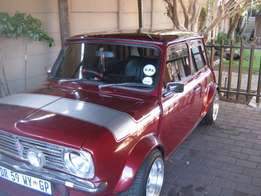 1982 Mini 1275cc Cooper - R69,000 (Negotiable)