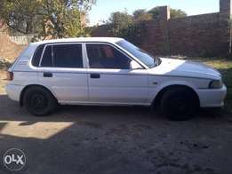 Toyota tazz wanted today