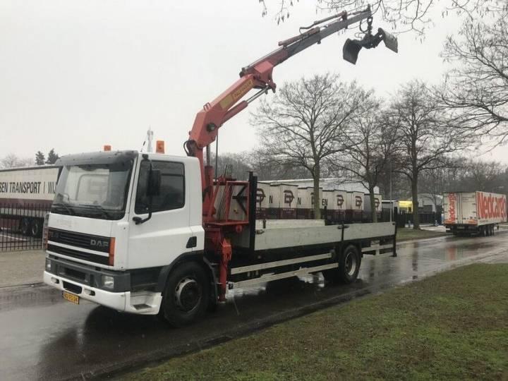DAF 75 ati 240 Pk met Palfinger kraan - 2019