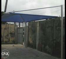 Used carport with cool cover