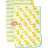 Child of Mine by Carter's Baby Towel 2-Piece Set - Yellow/Duck