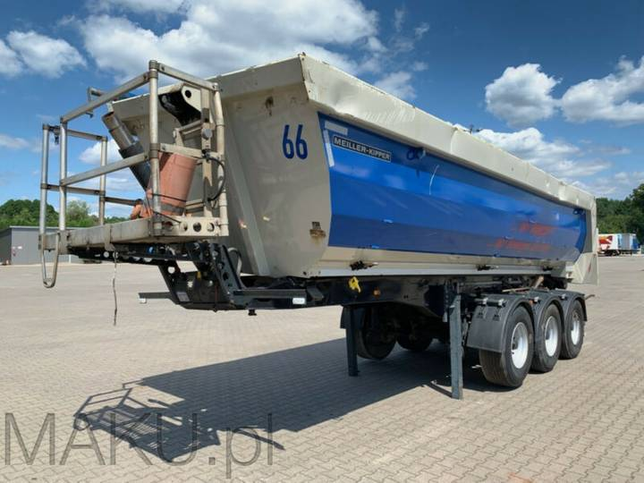 Meiller Kisa3 Liftachse 24m3 7850kg - 2015