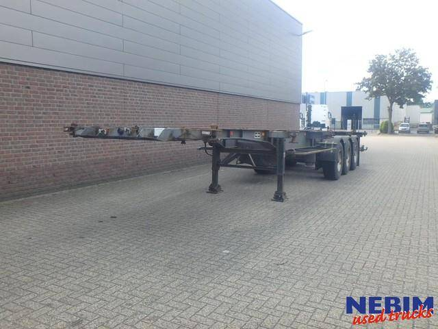 Van Hool 3B0011 Containerchassis 2x20, 1x30, 1x40 - 1988