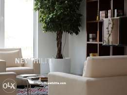 Sea view one bedroom furnished apartment for rent in Mangaf