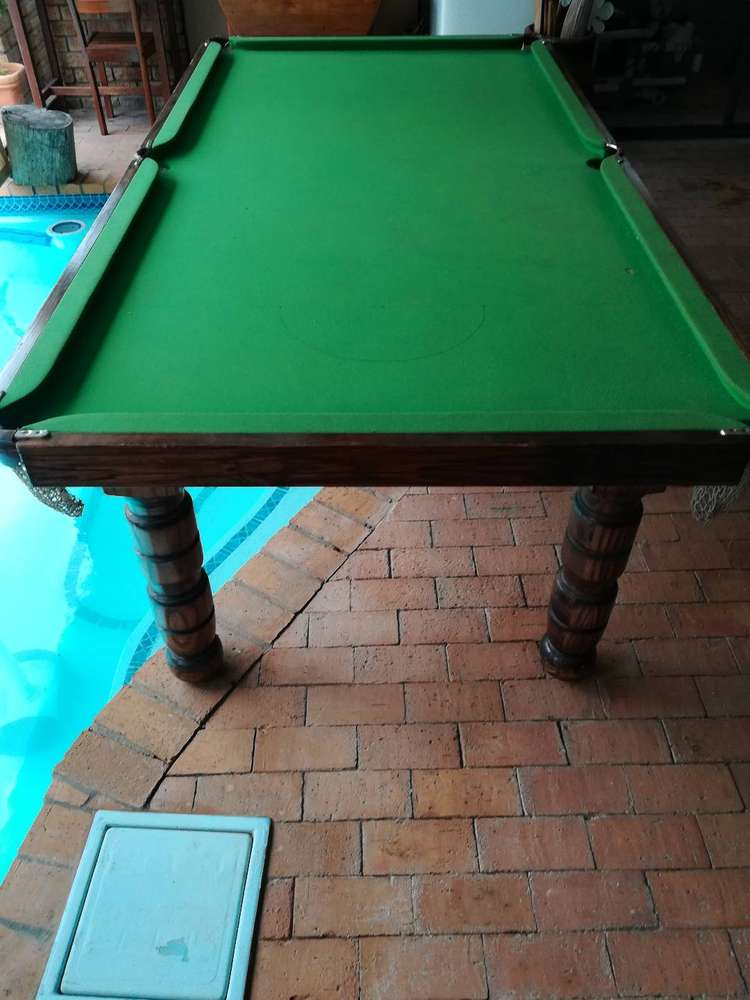 Wondrous Pool Table In Western Cape Olx South Africa Interior Design Ideas Inamawefileorg