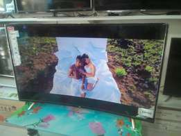 55'' TCL tv Curved Smart available now