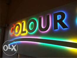 AMAZING and UNUSUAL 3D SIGNAGE, SIGNBOARDS, banners all over nigeria