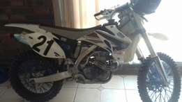YZF 450 Offroad, new exel rims, tyres almost brand new, Zeta hand leve