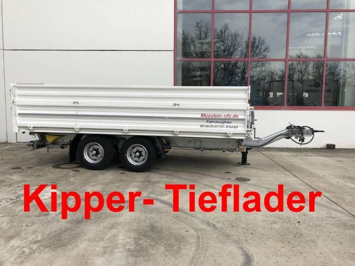 Möslein TDS 11 Schwebheim Tandem Kipper Tieflader mit Bo - 2019