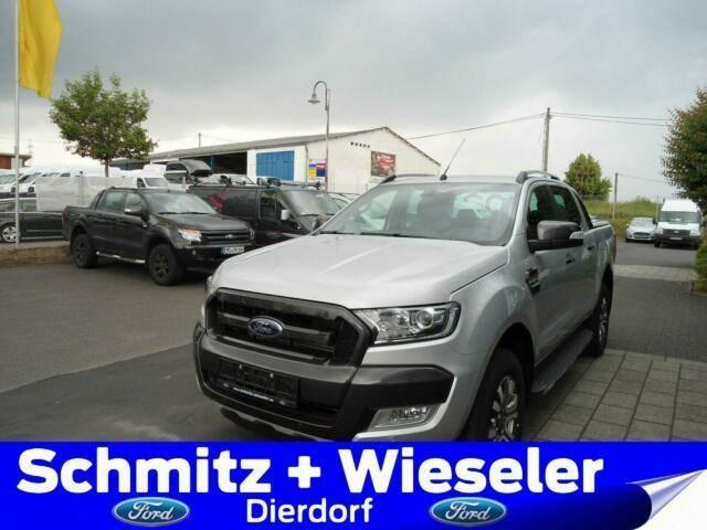 Ford Ranger DOKA 4x4 Wildtrak 200PS Auto. Rollo AHK - 2019