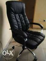 TZ Top Class Exotic Leather Executive Office Chair (New)