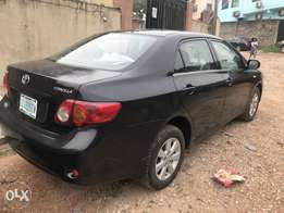 Used Toyota Corolla 2009 manual very clean