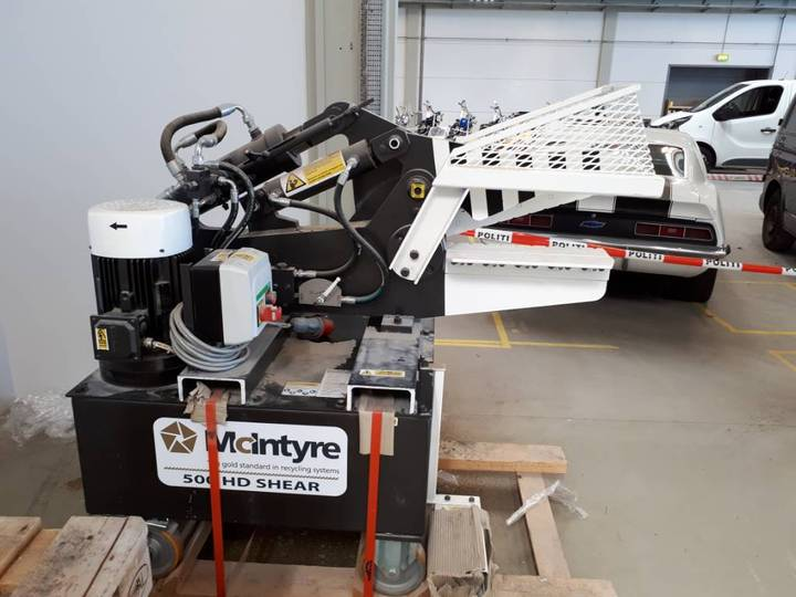 Mcintyre 500hd Alligator Shear - 2018