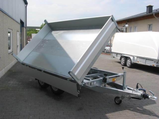 Hapert Dreiseitenkipper, Elektro, 305x180x30 cm, 3000KG