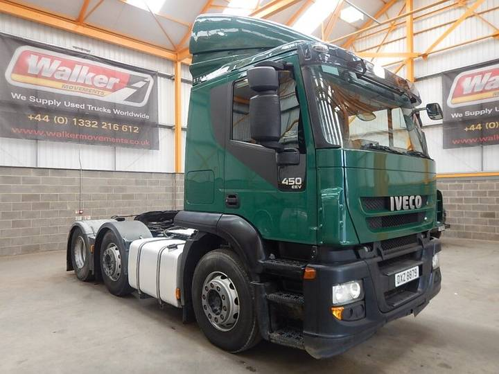 Iveco STRALIS 450 EURO 5 ACTIVE TIME 6 X 2 TRACTOR UNIT - 2013 - - 2013