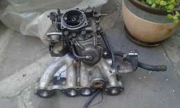 GOLF /JETTA 1800 carburator with manifold in very good condition.
