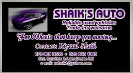Shaiks auto - reliable used vehicles