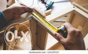 Carpentery all type wood items repair also fix