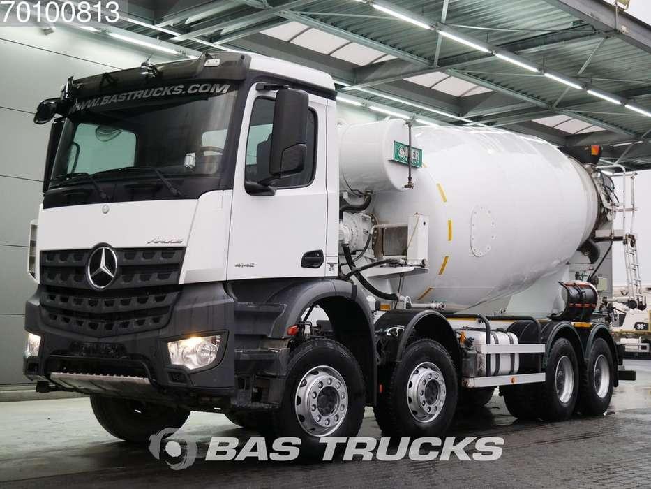 Mercedes-Benz Arocs 4142 8X4 12m3 Big-Axle Steelsuspension Euro 6 - 2016