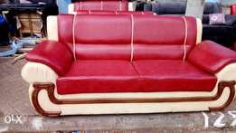 Five seater cream mixture of maroon