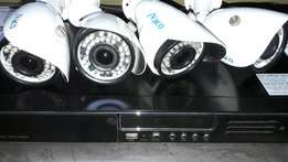 Ivaco professional DVR with cameras