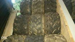 Quad Tyres and rims for sale like new