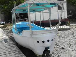 23 foot boat with a 30HP engine