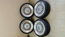 Bsx lenso 17 inch rims
