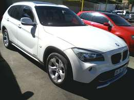 2011 BMW X1 SDrive18i,White color
