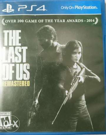 """THE LAST OF US """"remastered"""" PS4"""
