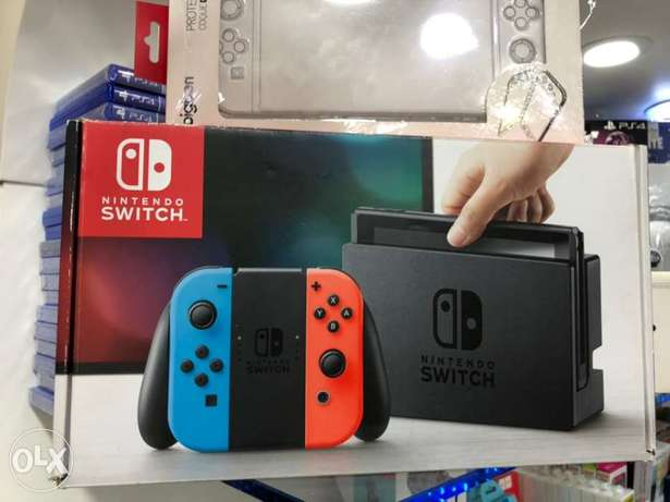 Nintendo Switch Full kit With Cover 32GB OB