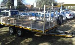3 ton trailer double axle