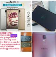 Infinix X601 NOTE 3 With free glass protector and back case