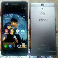Hot s infinix with an amazing camera and fingerprint
