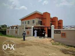 Newly built 3 bedrooms with Bq by Okota road peace estate