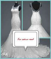 Size 16 wedding gown for rent