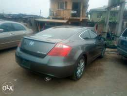 2012 Honda accord coupe tokunbo