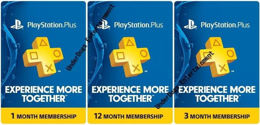 Ps Plus Subscriptions Psnwallet Top Up Gift Card Xbox Live Gold Ps4 0