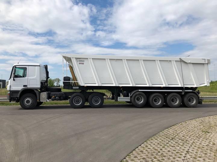 Mercedes-Benz Actros 3340S 6x4 + 60 CBM Tipper trailer - 2019 - image 2