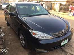 Toyota Camry 04 car in very good condition