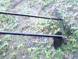 All steel rakes and hoes