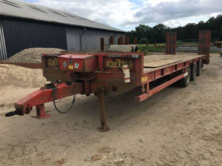 Herbst MACHINE TRAILER low bed semi-trailer for sale by auction - 2008