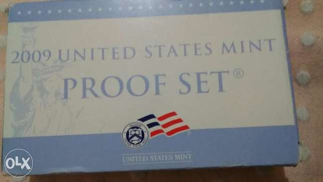 USA 2009 Mint Proof set of 18 coins Certified from the Fedral Reserve