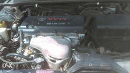 Toyota Camry LE 2003 manual transmission,4plug engine is working fine