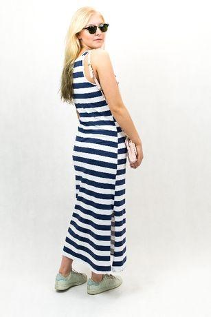 7265fe4ae7 sukienka maxi w paski dluga na ramiaczkach House H M Zara sportowa Rumia -  image 3