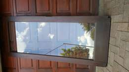 Wooden sliding doors - used and replaced