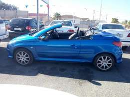 Peugeot 206 convertible 1.6 2006 on special sale R45000